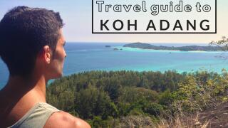Our travel guide to Koh Adang island in Thailand