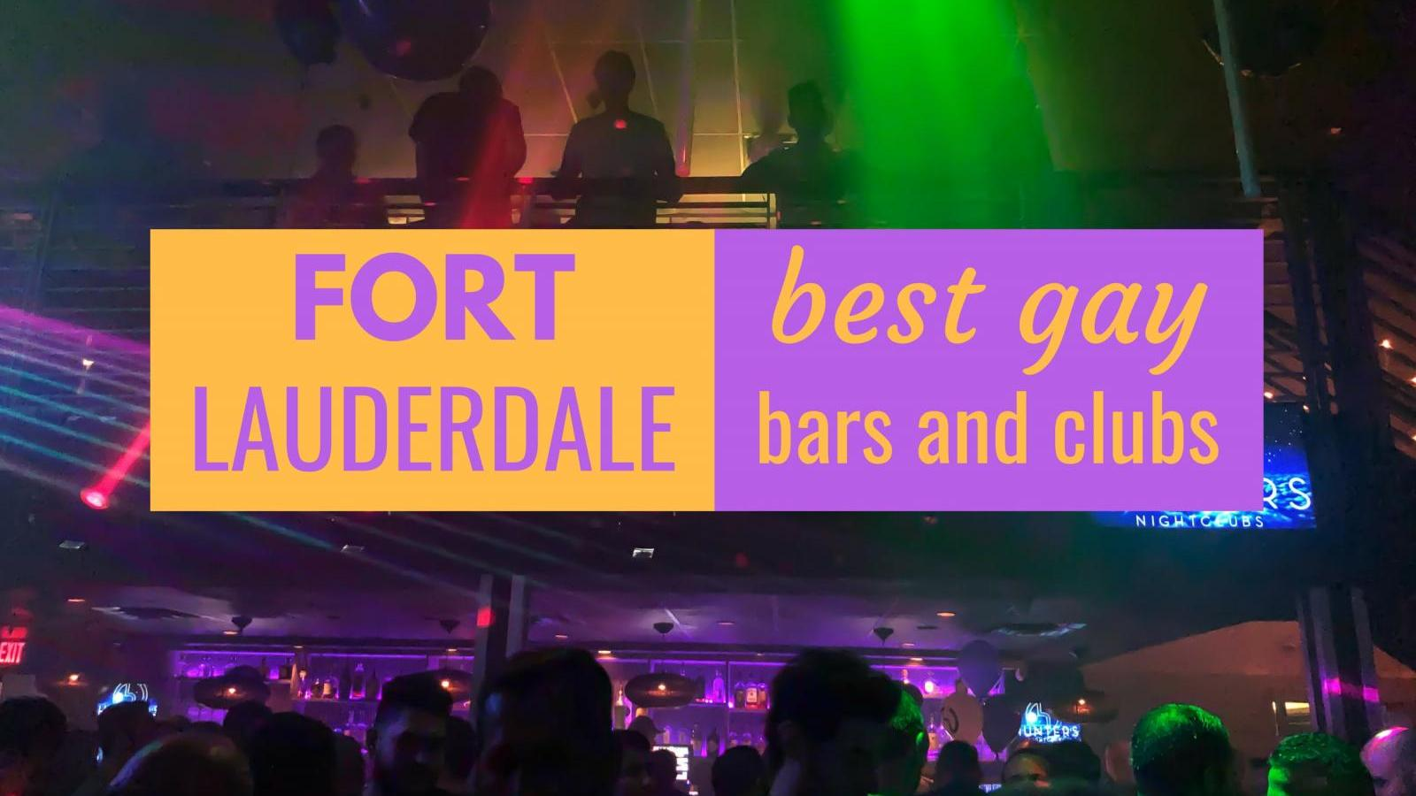 Best gay bars in Fort Lauderdale in Wilton Manors