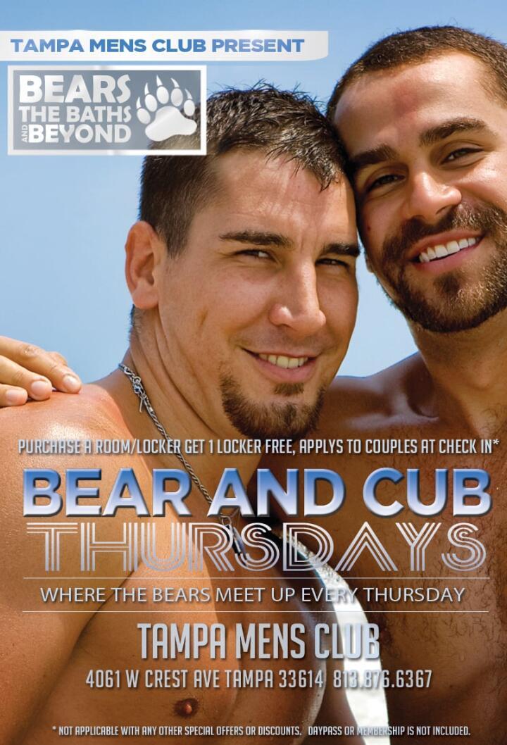Tampa Mens Club the main gay sauna in Tampa