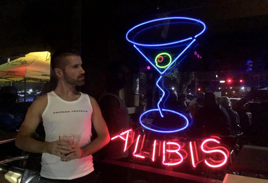 Alibi one of the main gay bars of Wilton Manors