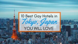 Our ten favourite gay hotels in Tokyo, Japan