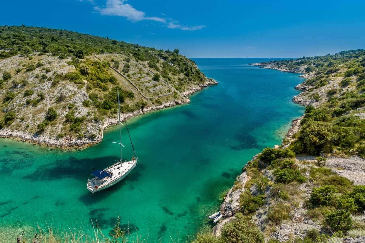 Visiting remote islands aboard a luxury cruise in Croatia