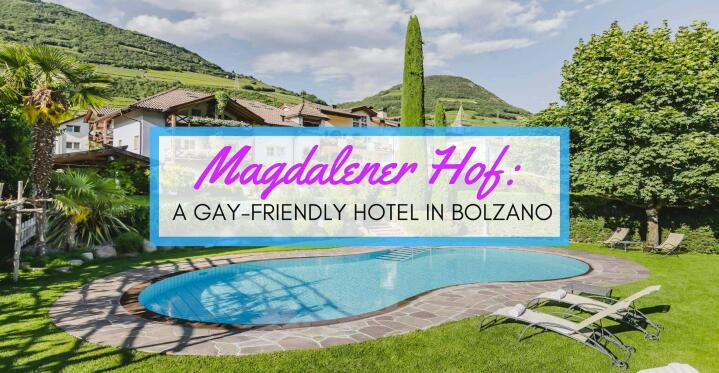 Magdalener Hof gay hotel in Italy