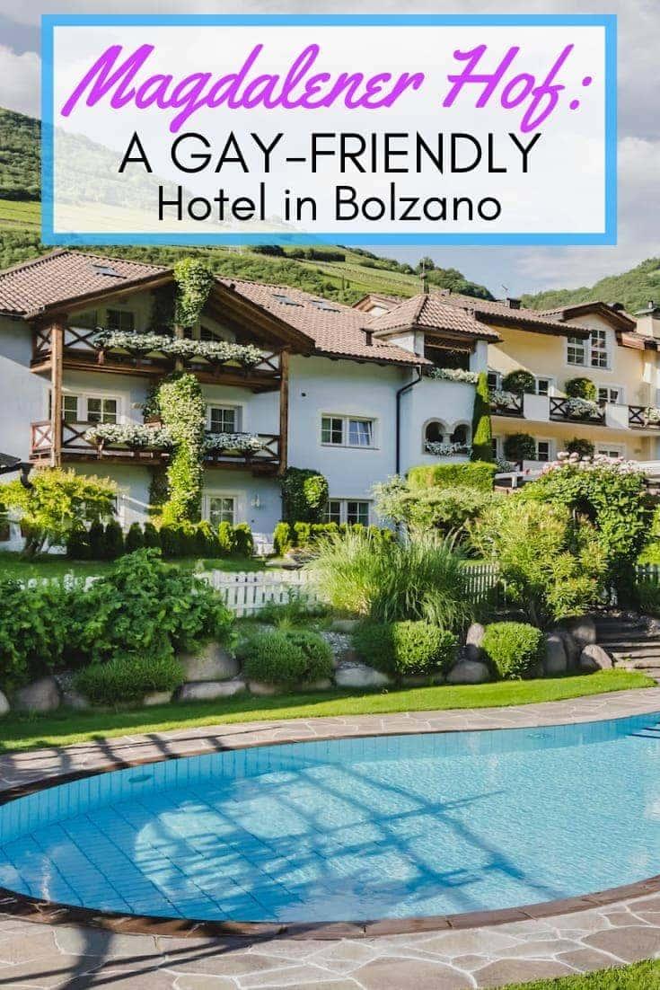 Magdalener Hof gay hotel in Italy