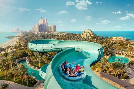 If you enjoy waterparks then the huge Aquaventure Waterpark Dubai is a must-visit for gay travellers.