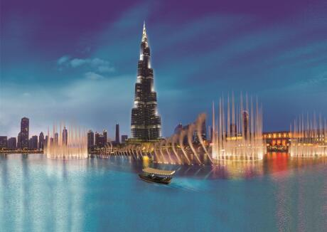 Gay travellers to Dubai shouldn't miss the stunning fountain show.