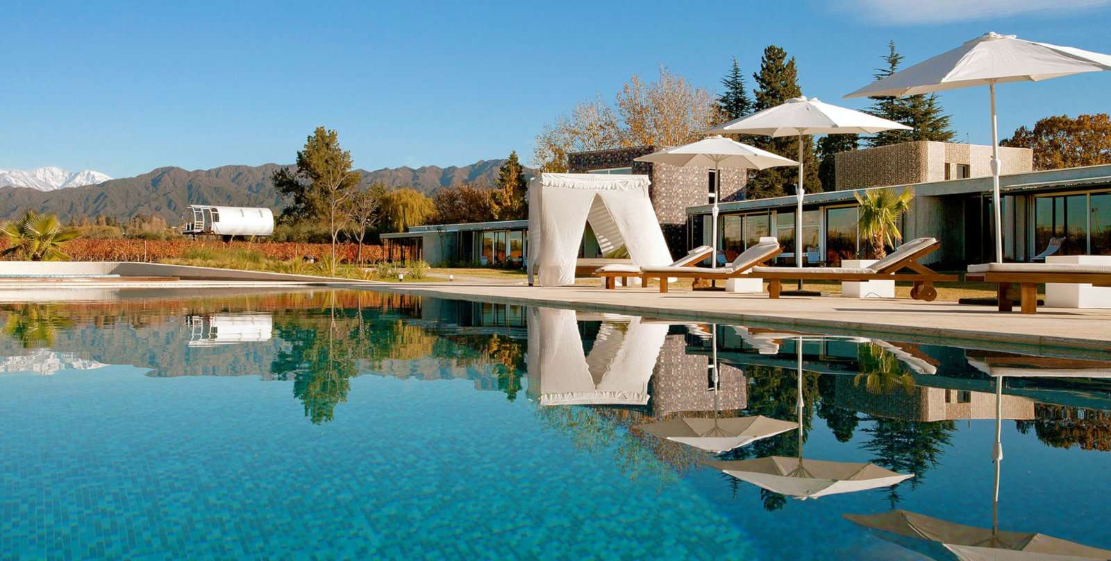 Luxury at the Entre Cielos gay hotel in Mendoza