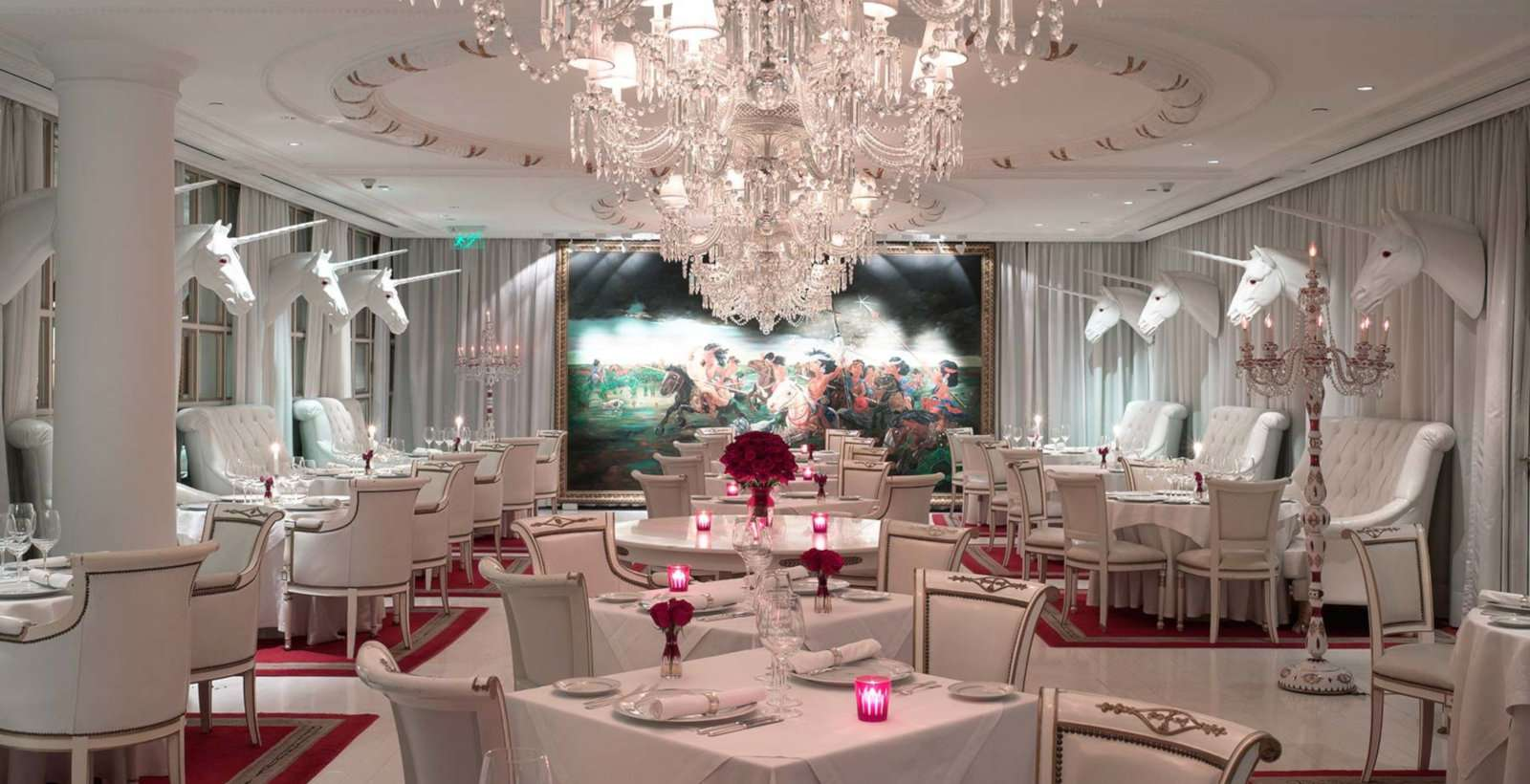 Gay travellers to Buenos Aires will love Faena Hotel, especially the unicorn-decorated Bistro Sur.