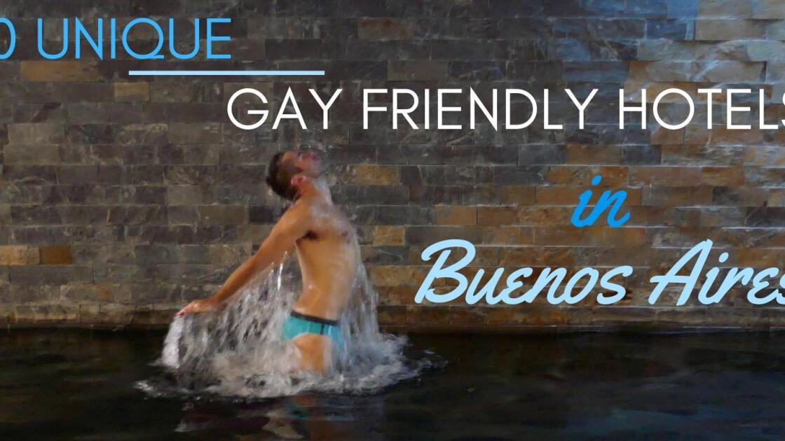 10 unique gay hotels in Buenos Aires