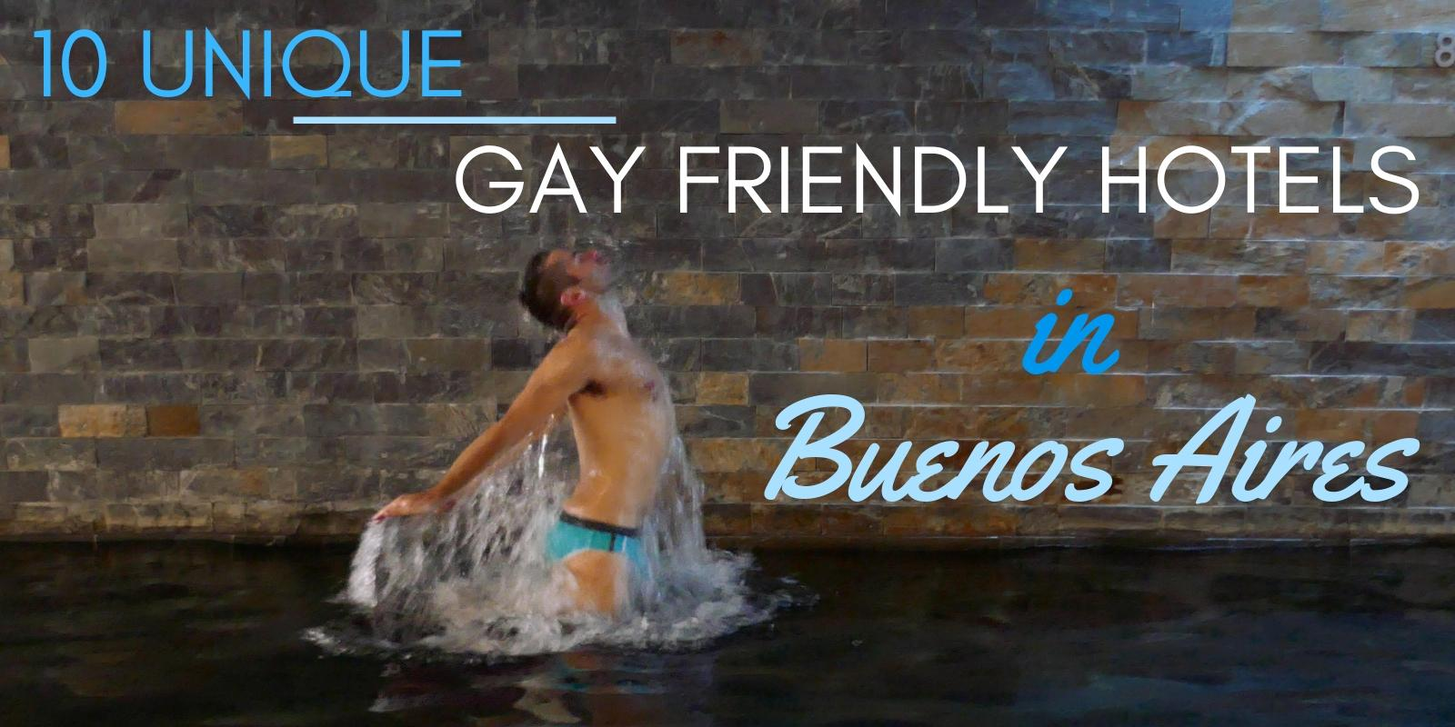 Our selection of the best unique and gay friendly places to stay in Buenos Aires, Argentina