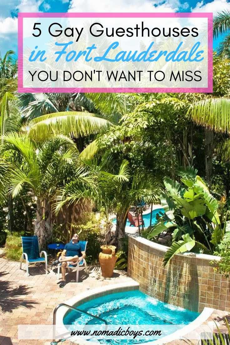 Read about the best gay guesthouses in Fort Lauderdale in our guide!
