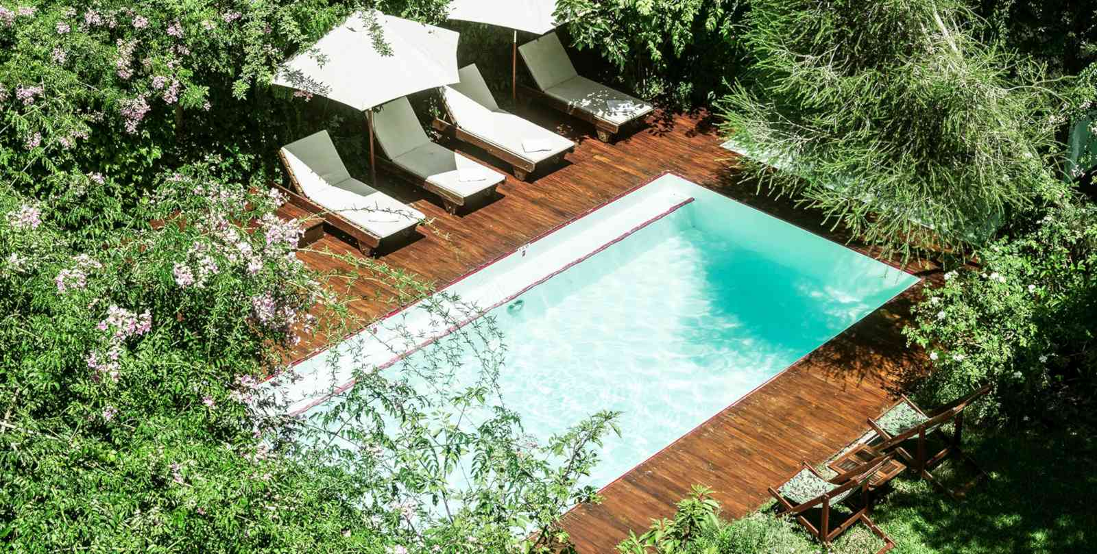 Gay Buenos Aires - Home Hotel is a lush and romantic oasis for couples.