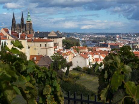 Gay Prague - the stunning views over the city from Petrin Hill are not to be missed.