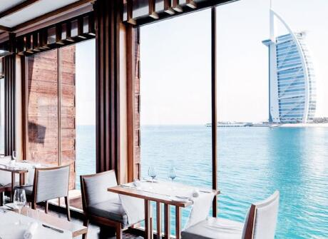 For the pinnacle of romance and fine dining in Dubai, go to Pierchic!