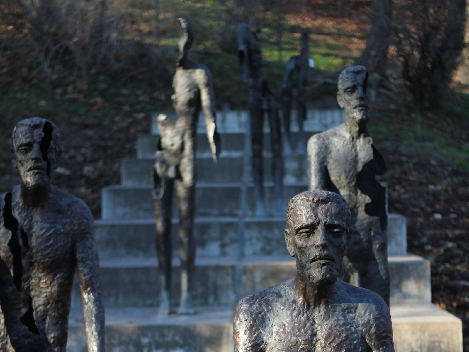 Gay travel to Prague - make sure you see the striking memorial to the victims of Communism during your trip.