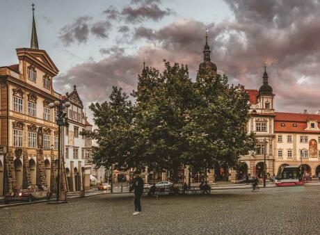 The Old Town area is a busy spot with lots of restaurants, cafés and even street performers for gay travellers to enjoy in Prague.