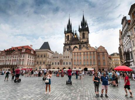 Gay foodies will enjoy experiencing the many farmer's markets throughout Prague.