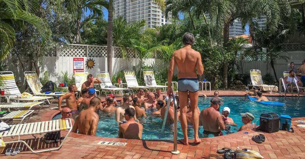 The Worthington is one of the most popular gay guesthouses in Fort Lauderdale.