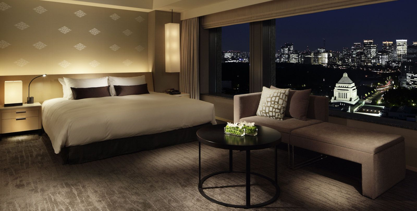 The Capitol Hotel Tokyu is a luxurious place for gay travellers to stay with amazing views.