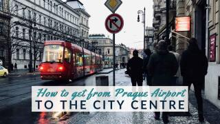 Our guide to the easiest way to get to the Prague city centre from Prague airport