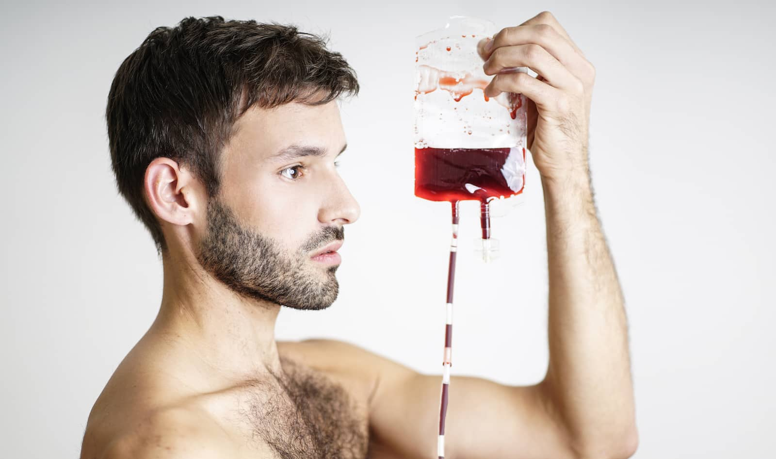 Mr Gay Germany and he's Blutsbruder campaign to help gay men donate blood