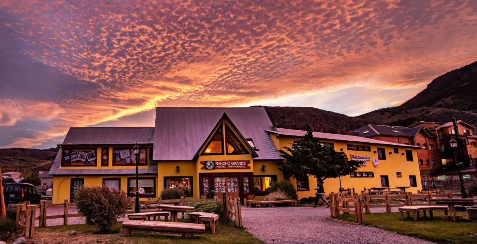 Gay travellers to El Chaltén will find the Rancho Grande Hostel a great budget choice!