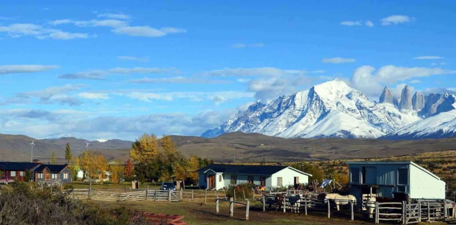 Stay on a working ranch at Estancia Tercera Barranca in Torres del Paine.