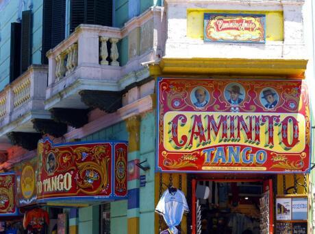 The barrios of Boca and Caminito are colourful and fun for gay visitors to Buenos Aires.