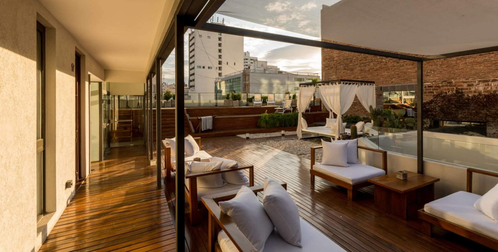 Our favourite gay hotel in Córdoba is Azur Real with it's gorgeous rooftop terrace.