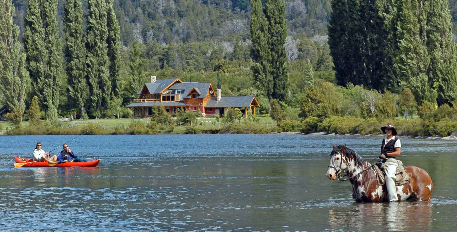 Gay travel to Patagonia - the Sendero Lodge has so many outdoor activities to try.