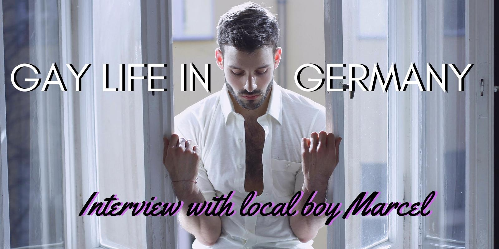Interview with Marcel from Berlin about gay life in Germany. Photo credit: Jean Babtiste Huong