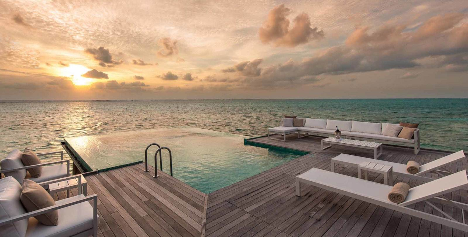 Gay travellers to the Maldives will love the romantic luxury at the Conrad resort.