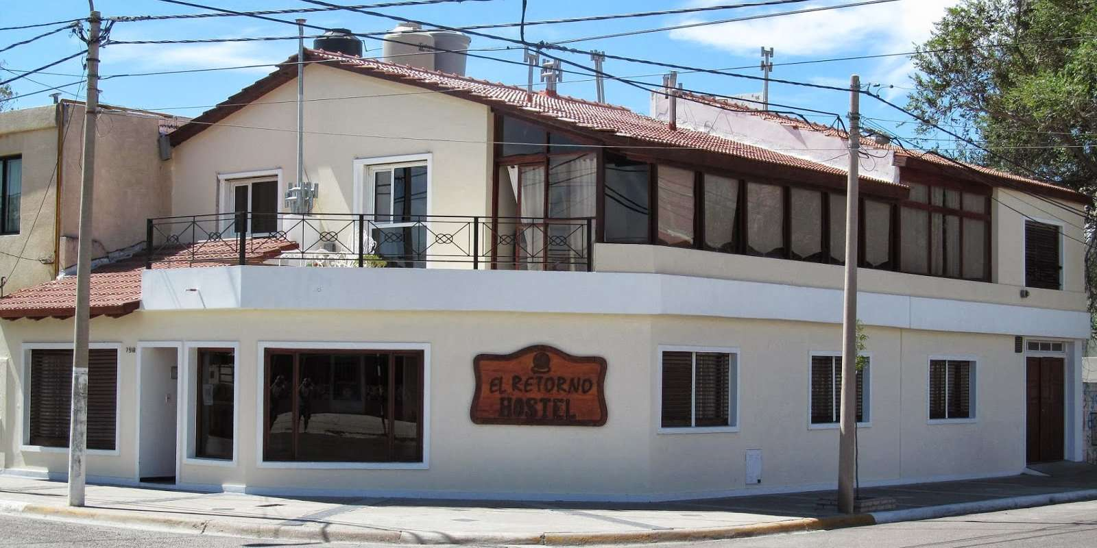 Gay guide to Puerto Madryn - El Retorno Hostel is a clean and comfortable budget option.