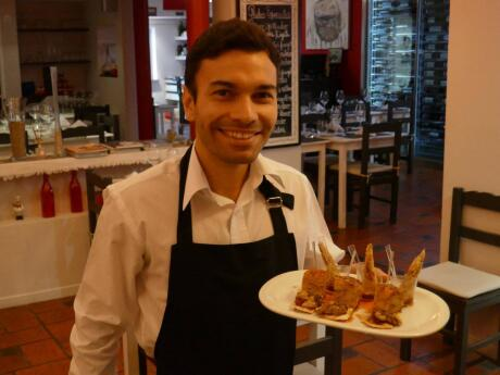 Gay travellers to Puerto Madryn will love the food and the waiters at Fuegos.