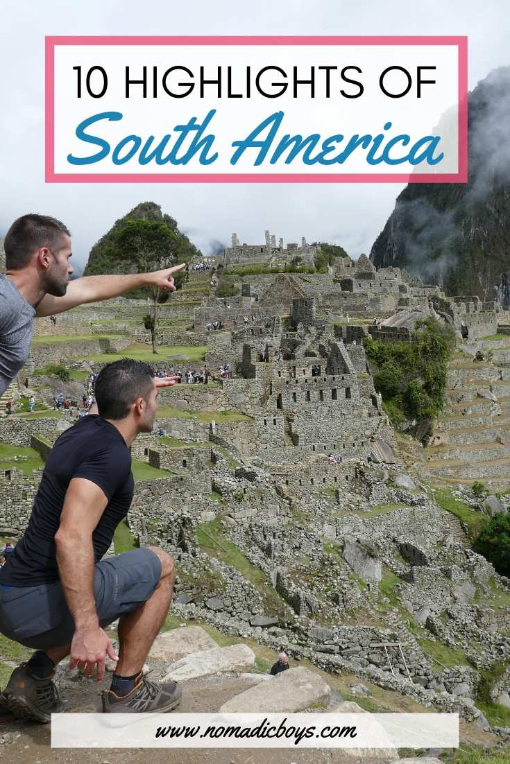 10 highlights from South America