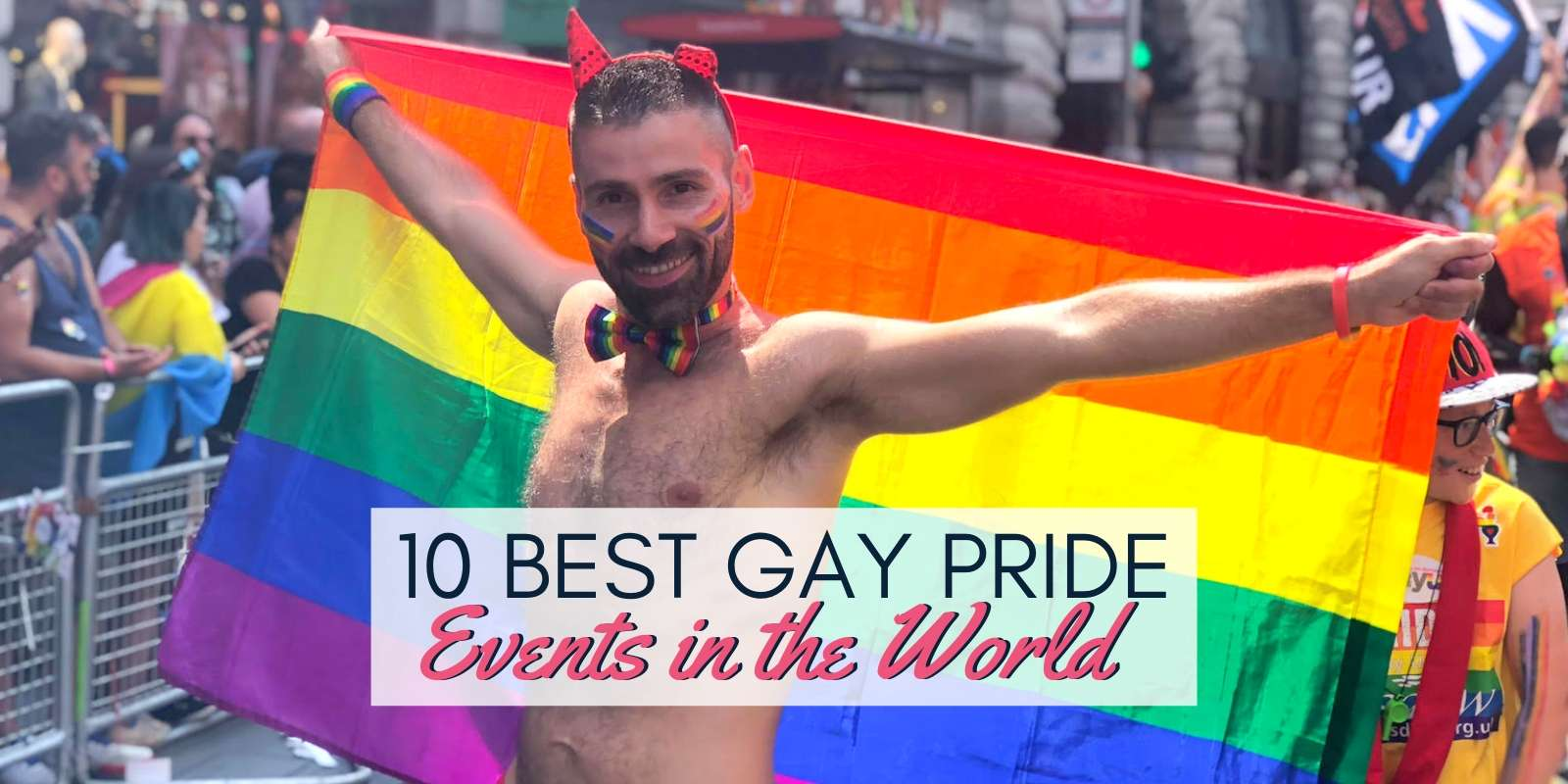 The Nomadic Boys guide to the best Gay Pride events held around the world.