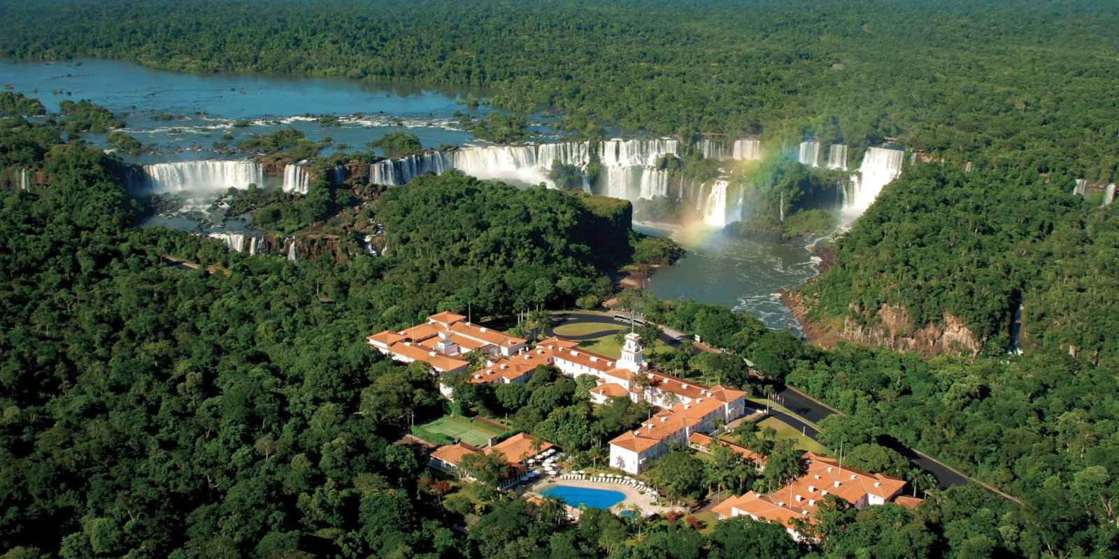 Gay travel to Iguazu Falls - stay at the Belmond for views of the falls from your very room!