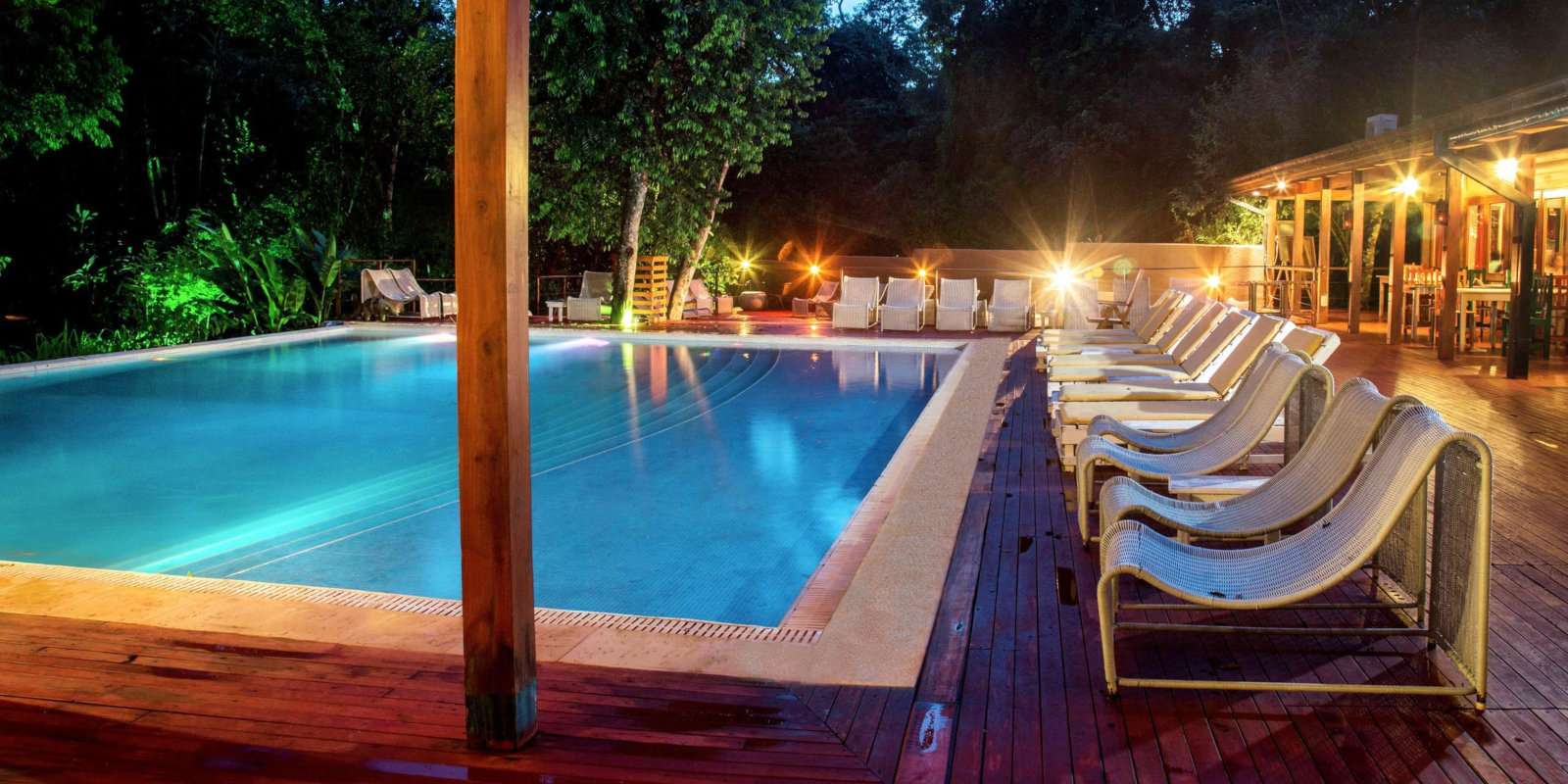 Iguazu gay travel guide - the Iguazu Jungle Lodge is a lovely mid-range choice to stay near the falls.