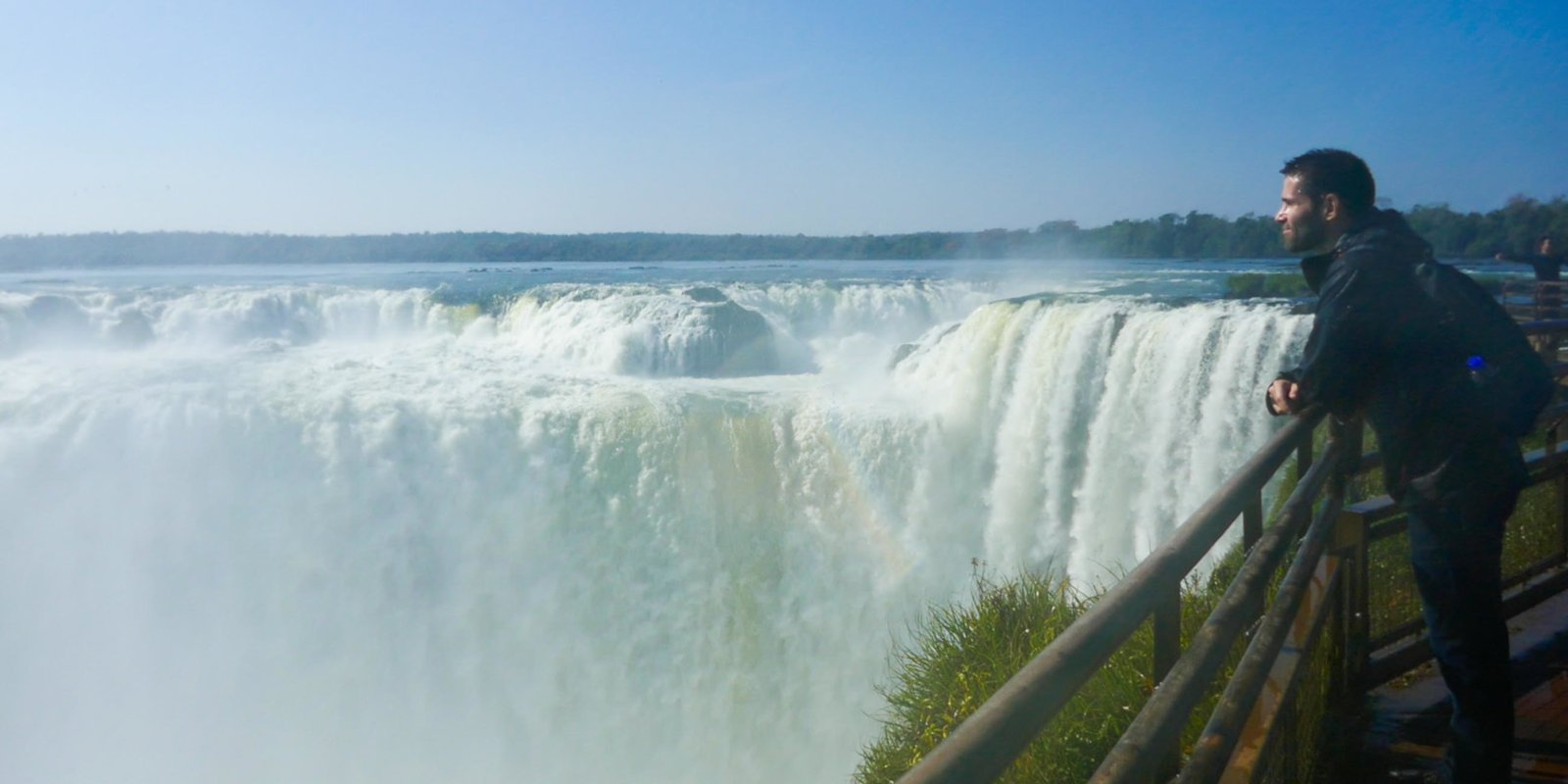Gay Travel to Iguazu Falls - you can view the famous falls from the Brazilian or Argentinian side.