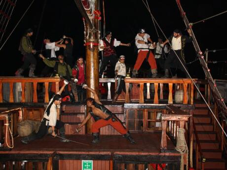 For something a bit different gay travellers to Puerto Vallarta might enjoy dinner and a pirate show on a ship!