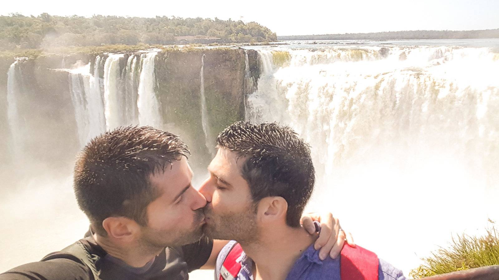 Gay travellers to Iguazu Falls can feel comfortable knowing they don't need to hide their sexuality.