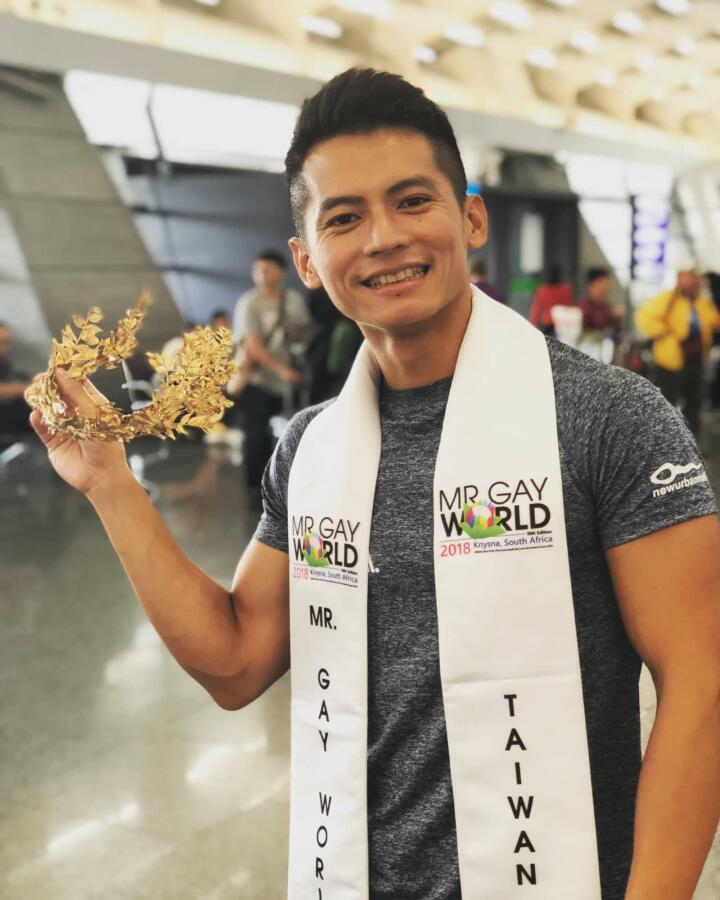 The Mr Gay Taiwan for Mr Gay World competition