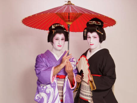 The Nomadic Boys transformed into geishas - an incredible experience in Tokyo!