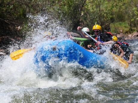 White water rafting is just one of the adrenaline-pumping activities you can do from Mendoza!