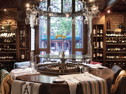 Have a truly decadent meal at Azafrán Resaurant in Mendoza.