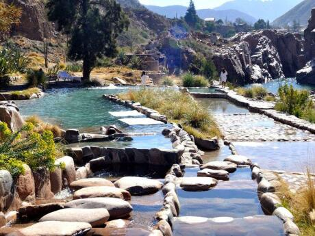 For a luxurious day of relaxation make sure you visit the thermal spas near Mendoza.