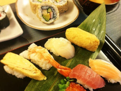 Join a cooking tour while you're in Tokyo to learn how to make authentic Japanese sushi