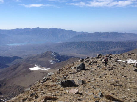 Get some exercise trekking the mountains near Mendoza followed by a yummy BBQ.