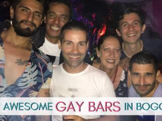 Our top ten gay bars in Bogota, perfect for starting your evening before heading to Theatron!