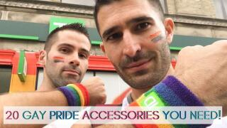 Here is our guide to the 20 accessories you absolutely need when celebrating gay pride!